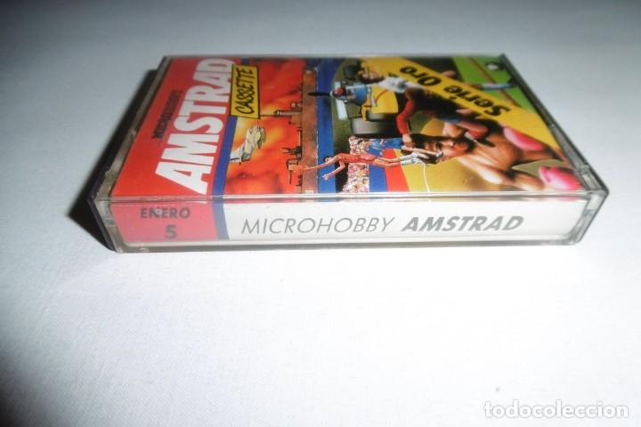 Videojuegos y Consolas: Cinta Cassette Microhobby Amstrad serie oro Nº5. Muy rara!!! - Foto 2 - 265653224