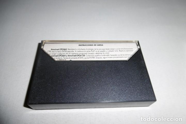 Videojuegos y Consolas: Cinta Cassette Microhobby Amstrad serie oro Nº12. Muy rara!!! - Foto 3 - 265653339