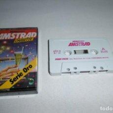 Videojuegos y Consolas: CINTA CASSETTE MICROHOBBY AMSTRAD SERIE ORO Nº13. MUY RARA!!!. Lote 265653519