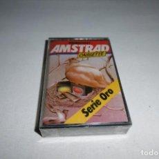 Videojuegos y Consolas: CINTA CASSETTE MICROHOBBY AMSTRAD SERIE ORO Nº14. MUY RARA!!!. NUEVA Y PRECINTADA.. Lote 265653719