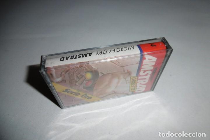 Videojuegos y Consolas: Cinta Cassette Microhobby Amstrad serie oro Nº14. Muy rara!!!. Nueva y precintada. - Foto 5 - 265653719