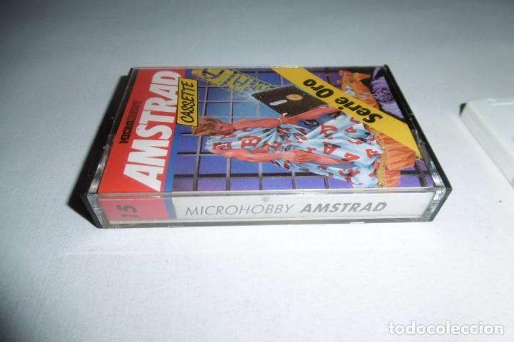 Videojuegos y Consolas: Cinta Cassette Microhobby Amstrad serie oro Nº15. Muy rara!!!. - Foto 2 - 265653904