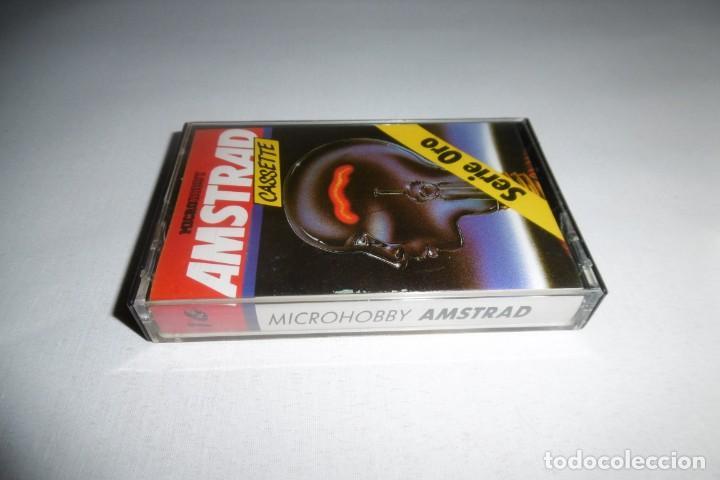 Videojuegos y Consolas: Cinta Cassette Microhobby Amstrad serie oro Nº16. Muy rara!!!. - Foto 2 - 265654119