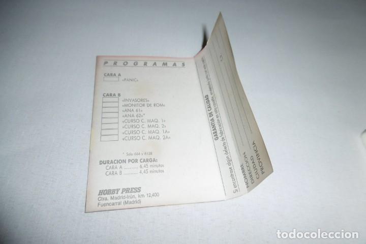Videojuegos y Consolas: Cinta Cassette Microhobby Amstrad serie oro Nº16. Muy rara!!!. - Foto 4 - 265654119