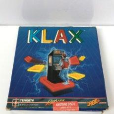 Videogiochi e Consoli: KLAX AMSTRAD CPC DISCO. Lote 266566483