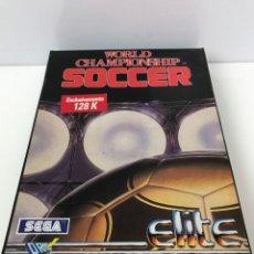 Videogiochi e Consoli: WORLD CHAMPIONSHIP SOCCER AMSTRAD CPC DISCO. Lote 266567358