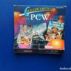 Videogiochi e Consoli: JUEGOS PCW COLECCION AMSTRAD VOLUMEN I. ORIGINAL. GOODY, THE LAST MISSION Y LIVINGSTONE. Lote 267114199