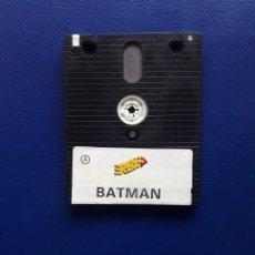 Videojuegos y Consolas: JUEGO PCW BATMAN. ORIGINAL. AMSTRAD 8256 Y 8512. SOLO DISCO. Lote 267117859