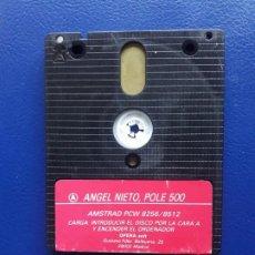 Videojuegos y Consolas: JUEGO PCW ANGEL NIETO POLE 500. ORIGINAL. AMSTRAD 8256, 8512 Y 9512. SOLO DISCO. Lote 267118434