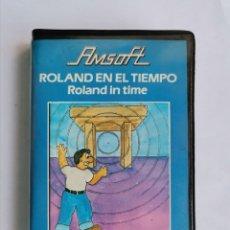 Videogiochi e Consoli: ROLAND EN EL TIEMPO ROLAND IN TIME AMSOFT AMSTRAD EN ESTUCHE. Lote 268903769