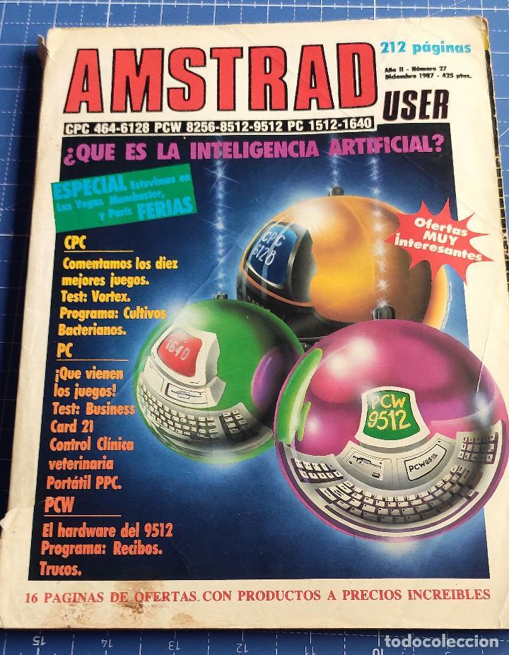 REVISTA AMSTRAD Nº 27 (Juguetes - Videojuegos y Consolas - Amstrad)