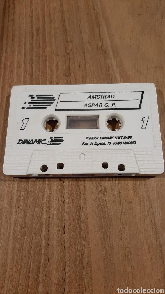Videojuegos y Consolas: AMSTRAD ASPAR G.P MOTOCICLISMO JUEGO - Foto 2 - 269628123