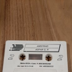 Videojuegos y Consolas: AMSTRAD ASPAR G.P MOTOCICLISMO JUEGO. Lote 269628123