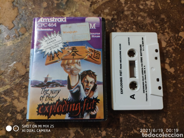 Videojuegos y Consolas: JUEGO AMSTRAD CPC 464 SCHNEIDER: THE WAY OF THE EXPLODING FIST - Foto 2 - 269983138