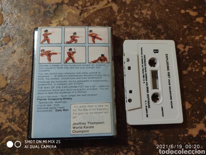 Videojuegos y Consolas: JUEGO AMSTRAD CPC 464 SCHNEIDER: THE WAY OF THE EXPLODING FIST - Foto 3 - 269983138
