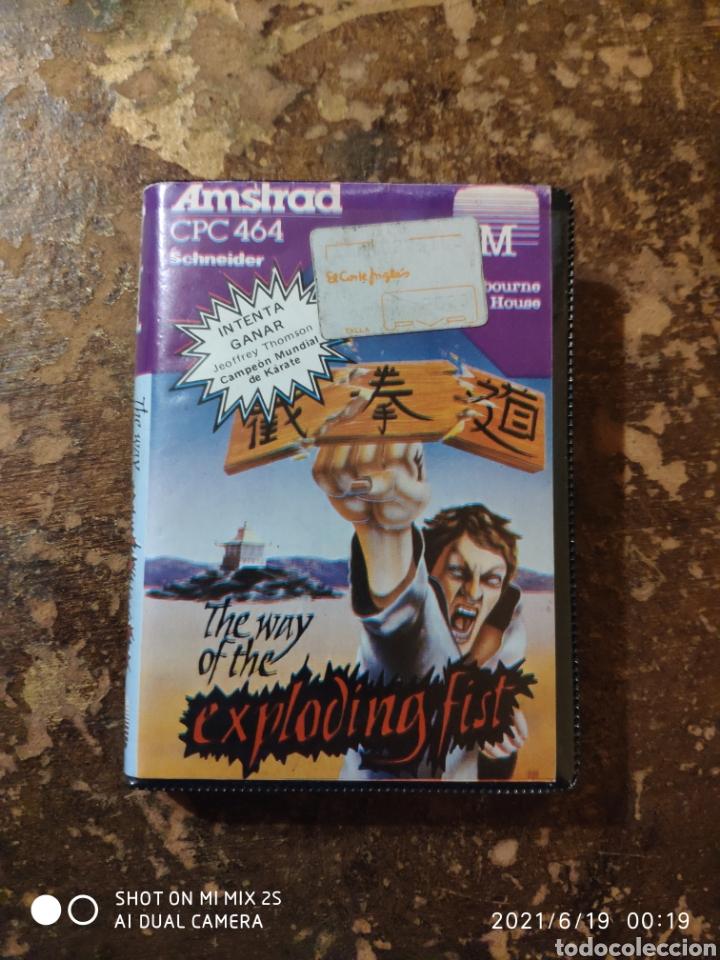 JUEGO AMSTRAD CPC 464 SCHNEIDER: THE WAY OF THE EXPLODING FIST (Juguetes - Videojuegos y Consolas - Amstrad)