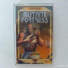 Videojuegos y Consolas: MUTANT FORTRESS / AMSTRAD CPC / RETRO VINTAGE / CASSETTE. Lote 270609553