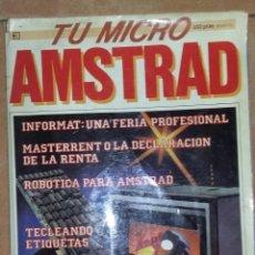 Videojuegos y Consolas: REVISTA TU MICRO AMSTRAD.. Lote 270657663
