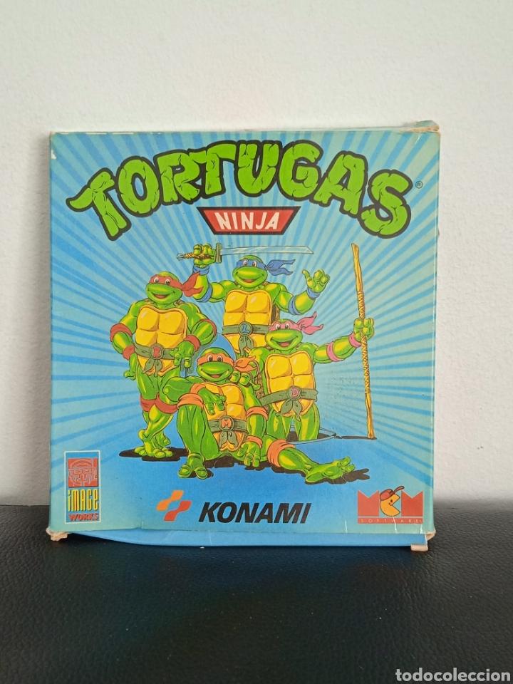 TORTUGAS NINJA JUEGO DE AMSTRAD EN CAJA DE COLECCIONISTA KONAMI (Juguetes - Videojuegos y Consolas - Amstrad)