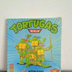 Videojuegos y Consolas: TORTUGAS NINJA JUEGO DE AMSTRAD EN CAJA DE COLECCIONISTA KONAMI. Lote 272034168