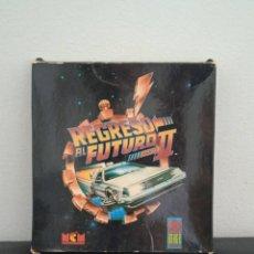 Videojogos e Consolas: REGRESO AL FUTURO II MCM ESPAÑA IMAGE WORKS 1990 DELOREANT BTTF MARTY MCFLY AMSTRAD CPC 464 CASSETTE. Lote 272035473