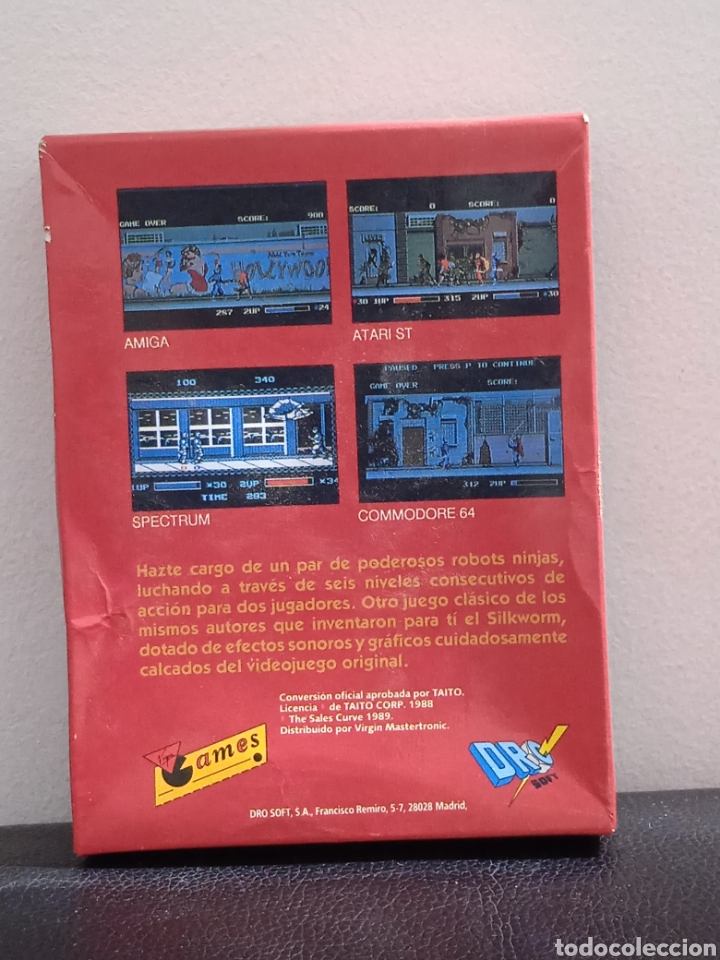Videojuegos y Consolas: THE NINJA WARRIORS DRO SOT ESPAÑA 1989 AMSTRAD DISCOS - Foto 2 - 272037533