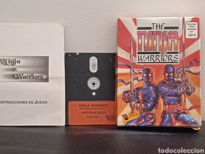 Videojuegos y Consolas: THE NINJA WARRIORS DRO SOT ESPAÑA 1989 AMSTRAD DISCOS - Foto 4 - 272037533