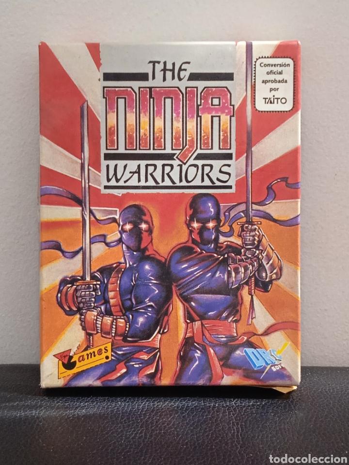 THE NINJA WARRIORS DRO SOT ESPAÑA 1989 AMSTRAD DISCOS (Juguetes - Videojuegos y Consolas - Amstrad)