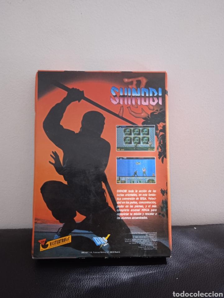 Videojuegos y Consolas: Juego AMSTRAD SHINOBI - Foto 3 - 272039793