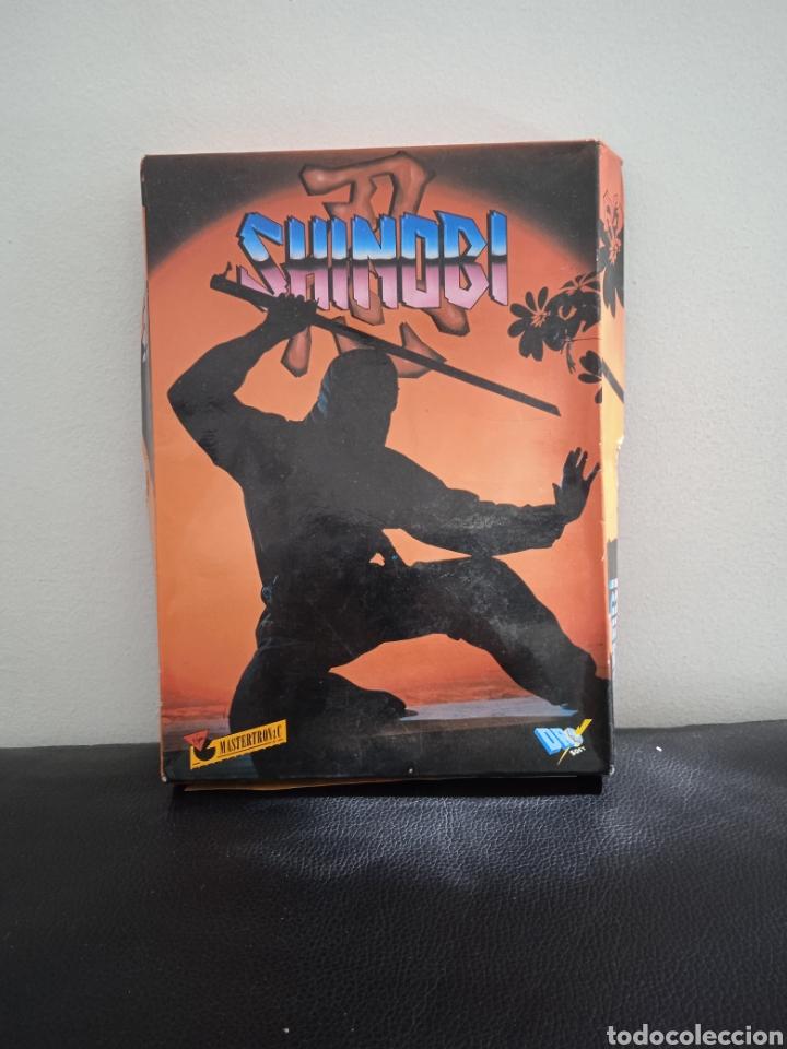 JUEGO AMSTRAD SHINOBI (Juguetes - Videojuegos y Consolas - Amstrad)