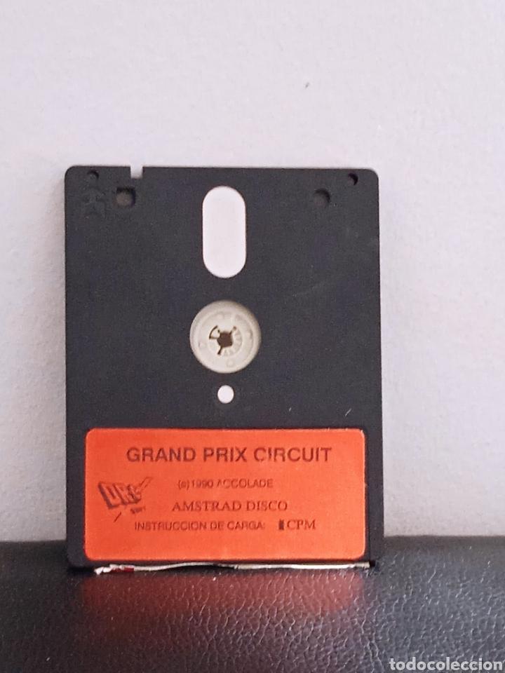 Videojuegos y Consolas: Juego AMSTRAD grand prox circuit - Foto 2 - 272040778