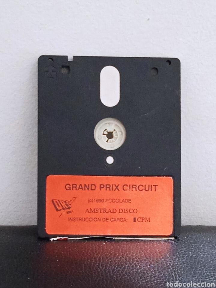 JUEGO AMSTRAD GRAND PROX CIRCUIT (Juguetes - Videojuegos y Consolas - Amstrad)