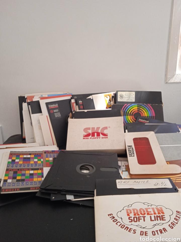 Videojuegos y Consolas: UN GRAN LOTE DE 88 DISCO IBM PC . AMSTRAD PC COMPATIBLE - Foto 2 - 272046838