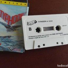 Videojuegos y Consolas: JMFC - CASSETTE VIDEOJUEGO AMSTRAD - ERBE - TYPHOON. Lote 273619803