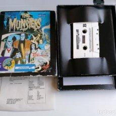 Videojuegos y Consolas: JUEGO VIDEOJUEGO AMSTRAD THE MUNSTERS - COMPLETO. Lote 274627013