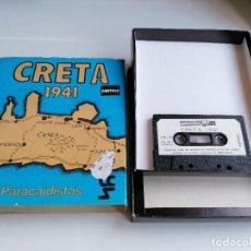 Videojuegos y Consolas: JUEGO VIDEOJUEGO AMSTRAD CRETA 1941 PARACAIDISTAS. Lote 274627923