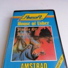 Videojuegos y Consolas: JUEGO VIDEOJUEGO AMSTRAD HOUSE OF USHER. Lote 274628823