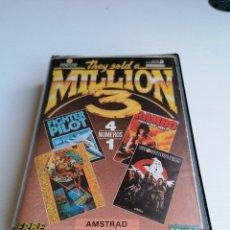 Videojuegos y Consolas: JUEGO VIDEOJUEGO AMSTRAD THEY SOLD A MILLION 3. Lote 274630198