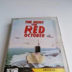Videojuegos y Consolas: JUEGO VIDEOJUEGO AMSTRAD THE HUNT FOR RED OCTOBER. Lote 274630428