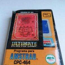 Videojogos e Consolas: JUEGO PROGRAMA AMSTRAD ULTIMATE PLAY THE GAME KNIGHT LORE. Lote 274632683