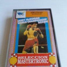 Videojuegos y Consolas: JUEGO VIDEOJUEGO AMSTRAD BARRY MC GUIGAN WORL CHAMPIONSHIP BOXING. Lote 274751843