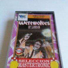 Videojuegos y Consolas: JUEGO VIDEOJUEGO AMSTRAD WEREWOLVES OF LONDON. Lote 274755113