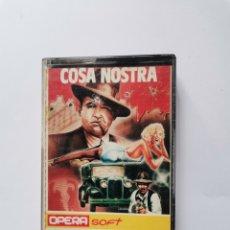 Videojuegos y Consolas: COSA NOSTRA AMSTRAD OPERA SOFT 1986. Lote 275640343