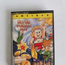 Videojuegos y Consolas: SUPER WONDER BOY AMSTRAD ACTIVISION SEGA. Lote 275653868