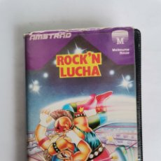 Videojuegos y Consolas: ROCK'N LUCHA AMSTRAD ERBE 1986 WRESTLE. Lote 275657258
