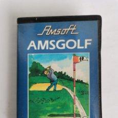Videojuegos y Consolas: AMSGOLF AMSOFT AMSTRAD EN ESTUCHE COMPLETO Y PROBADO. Lote 275658398