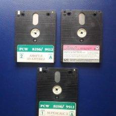 Videojuegos y Consolas: ANTIGUOS DISCOS CF-2. AMSTRAD CPC, PCW Y SPECTRUM +3. 3 UNIDADES. Lote 277252393