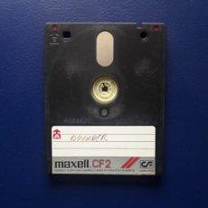 Videojuegos y Consolas: ANTIGUO DISCO CF-2. AMSTRAD CPC, PCW Y SPECTRUM +3.. Lote 277253788