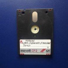 Videojuegos y Consolas: ANTIGUO DISCO CF-2. AMSTRAD CPC, PCW Y SPECTRUM +3.. Lote 277254403