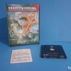 Videojuegos y Consolas: GHOSTS'N GOBLINS. AMSTRAD DISCO. COMPLETO CON INSTRUCCIONES.. Lote 277536793